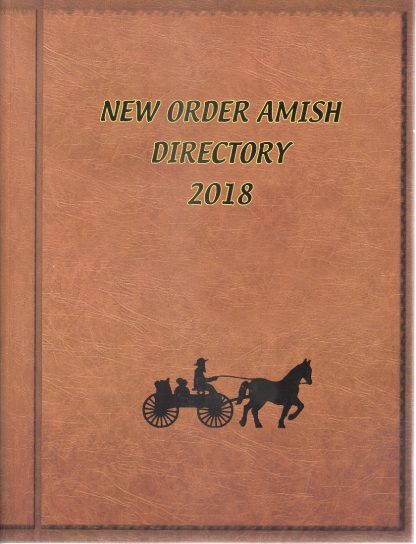 New Order Amish Directory 2018