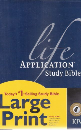Life Application Study Bible  Lg. Print HC