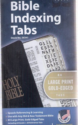 Index Tabs – Extra Large