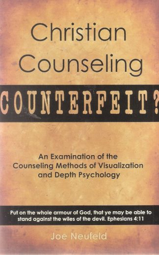 Christian Counseling Counterfeit?