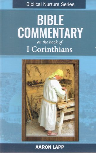 Bible Commentary on the book of I Corinthians