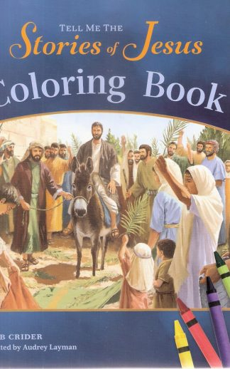 Tell Me Stories of Jesus Coloring Book